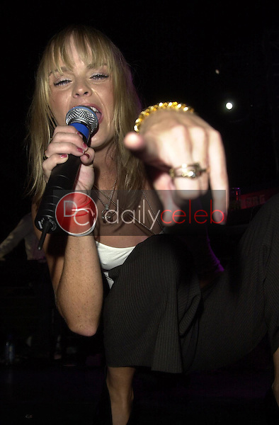 """Taryn Manning performs with her group """"Boomkat"""""""