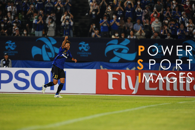 Gamba Osaka vs FC Seoul during the 2009 AFC Champions League Group F match on May 20, 2009 at the Osaka Expo '70 Stadium, Suita, Japan. Photo by World Sport Group