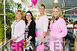 Attending the paint it pink coffee morning and Fashion Show at Ballyseedy Garden Centre  for the Irish Cancer Society on Friday were l-r Gillian Wharton, Jennifer Kissane, Olivia Wall and Lisa Martin.