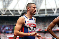Daniel Talbot of Great Britain after competing in the menís 200 metres during the Muller Anniversary Games at The London Stadium on 9th July 2017