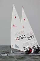 Medemblik - the Netherlands, May 29th 2010. Delta Lloyd Regatta in Medemblik (26/30 May 2010).
