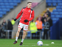 Fleetwood Town's Ashley Hunter during the pre-match warm-up <br /> <br /> Photographer Kevin Barnes/CameraSport<br /> <br /> The EFL Sky Bet League One - Oxford United v Fleetwood Town - Tuesday 10th April 2018 - Kassam Stadium - Oxford<br /> <br /> World Copyright &copy; 2018 CameraSport. All rights reserved. 43 Linden Ave. Countesthorpe. Leicester. England. LE8 5PG - Tel: +44 (0) 116 277 4147 - admin@camerasport.com - www.camerasport.com