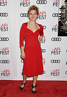 HOLLYWOOD, CA - NOVEMBER 09: Actor Samantha Hoefer attends the screening of Netflix's 'Mudbound' at the Opening Night Gala of AFI FEST 2017 presented by Audi at TCL Chinese Theatre on November 9, 2017 in Hollywood, California.<br /> CAP/ROT<br /> &copy;ROT/Capital Pictures
