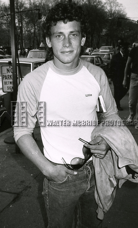 Willie Aames ( star of PARADISE ).Seen here walking down fifth Avenue in New York City..April 29, 1982.© Walter McBride /