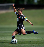 Molly Menchel.  The D.C. United Women defeated the Charlotte Lady Eagles, 3-0, to win the W-League Eastern Conference Championship.