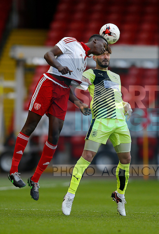 Joseph Cummings of Sheffield Utd in action during the PDL U21 Final at Bramall Lane Sheffield. Photo credit should read: Simon Bellis/Sportimage