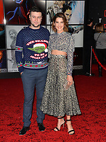 Taran Killam &amp; Cobie Smulders at the world premiere for &quot;Star Wars: The Last Jedi&quot; at the Shrine Auditorium. Los Angeles, USA 09 December  2017<br /> Picture: Paul Smith/Featureflash/SilverHub 0208 004 5359 sales@silverhubmedia.com