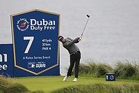 Cormac Sharvin (NIR) on the 7th tee during Round 2 of the Irish Open at LaHinch Golf Club, LaHinch, Co. Clare on Friday 5th July 2019.<br /> Picture:  Thos Caffrey / Golffile<br /> <br /> All photos usage must carry mandatory copyright credit (© Golffile | Thos Caffrey)