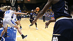 DURHAM, NC - FEBRUARY 04: Notre Dame's Arike Ogunbowale (24) takes an inbounds pass from Jackie Young (5). The Duke University Blue Devils hosted the University of Notre Dame Fighting Irish on February 4, 2018 at Cameron Indoor Stadium in Durham, NC in a Division I women's college basketball game. Notre Dame won the game 72-54.
