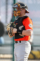 January 17, 2010:  Mathew (Matt) Anziano (Beichertown, MA) of the Baseball Factory Florida Team during the 2010 Under Armour Pre-Season All-America Tournament at Kino Sports Complex in Tucson, AZ.  Photo By Mike Janes/Four Seam Images