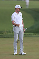 Bethesda, MD - July 2, 2017: Martin Laird tries to direct his putt during final round of professional play at the Quicken Loans National Tournament at TPC Potomac  in Bethesda, MD, July 2, 2017.  (Photo by Elliott Brown/Media Images International)