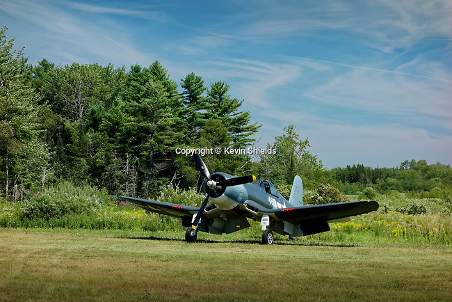 Vintage aircraft at the Owls Head Transportation Museum, Maine