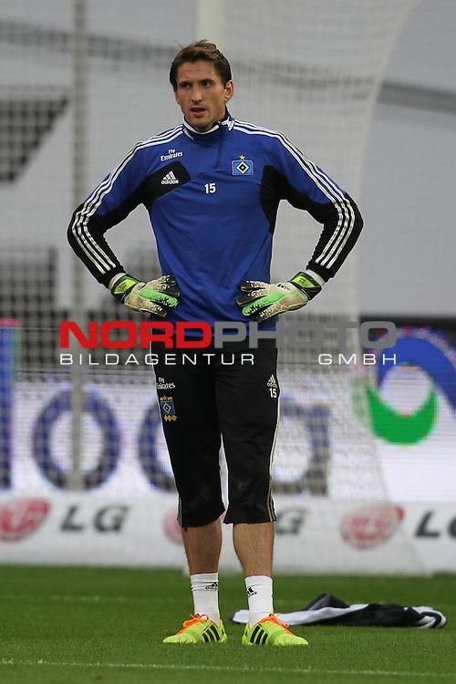 09.11.2013, BayArena, Leverkusen, GER, 1.FBL, Bayer Leverkusen vs Hamburger SV, im Bild<br /> Rene Adler (Torwart Hamburg)<br /> <br /> Foto &not;&copy; nph / Mueller *** Local Caption ***