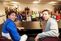 13-02-13, Tennis, Rotterdam, ABNAMROWTT, Persconferentie