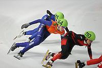 SCHAATSEN: DORDRECHT: Sportboulevard, Korean Air ISU World Cup Finale, 11-02-2012, Jorien ter Mors NED (144), ©foto: Martin de Jong