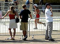 03 AUG 2003 -  LONDON, UK - London Triathlon 2003. (PHOTO (C) NIGEL FARROW)