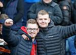 09.12.2018 Dundee v Rangers: Rangers fans