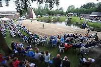 FIERLJEPPEN: BURGUM: 16-07-2016, Keningsljeppen, ©foto Martin de Jong