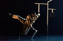 """London, UK. 15.03.2018. Ballet Black presents a double bill of """"The Suit"""", choreographed by Cathy Marston, and """"A Dream Within A Midsummer Night's Dream"""", choreographed by Arthur Pita, in the Barbican theatre. Shown here is: """"The Suit"""". Picture shows: Mthuthuzeli November (Simon). Photograph © Jane Hobson."""