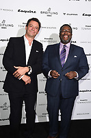 Dominic West and Wendell Pierce<br /> arriving for the Esquire Townhouse 2019 launch party, London.<br /> <br /> ©Ash Knotek  D3528 16/10/2019