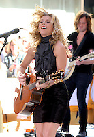 June 01, 2012 Kimberly Perry of The Band Perry perform at NBC's Today Show Toyota Concert Series in New York City. © RW/MediaPunch Inc.