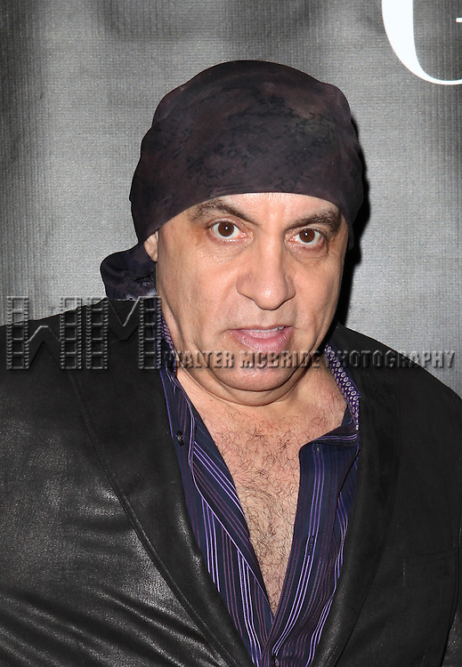 Miami Steve Van Zandt attending the Opening Night Performance of 'Grace' at the Cort Theatre in New York City on 10/4/2012.