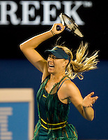 Maria Sharapova (RUS) (14) against Maria Kirilenko (RUS) in the first round of the Ladies Singles. Kirilenko beat Sharapova 7-6 3-6 6-4..International Tennis - Australian Open Tennis - Mon 18 Jan 2010 - Melbourne Park - Melbourne - Australia ..© Frey - AMN Images, 1st Floor, Barry House, 20-22 Worple Road, London, SW19 4DH.Tel - +44 20 8947 0100.mfrey@advantagemedianet.com