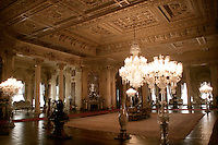 Selamlik or living quarters at the Dolmabahce Palace, Istanbul, Turkey