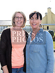 Linda Fagan and Paula Johnson pictured at the official opening of St. Kevin's Community Centre in Phillipstown. Photo:Colin Bell/pressphotos.ie
