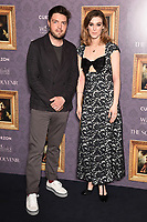 "Tom Burke and Honor Swinton-Byrne<br /> arriving for the UK gala screening of  ""The Souvenir"" at the Curzon Mayfair, London<br /> <br /> ©Ash Knotek  D3516 27/08/2019"