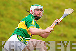Mikey Boyle Kerry in action against  Kildare in the National Hurling League at Abbeydorney on Sunday.