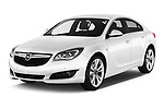 2016 Opel Insignia Cosmo 5 Door hatchback Angular Front stock photos of front three quarter view
