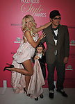 WESTWOOD, CA. - October 11: Pamela Anderson and David LaChappelle  arrive at the 6th Annual Hollywood Style Awards at the Armand Hammer Museum on October 11, 2009 in Los Angeles, California.