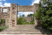 Ruins of old Recreation Building in Clairette, TX