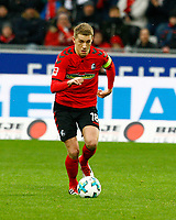 Nils PETERSEN, SCF ,   , Fussball, 1. Bundesliga  2017/2018<br /> <br />  <br /> Football: Germany, 1. Bundesliga, SC Freiburg vs Bayer 04 Leverkusen, Freiburg, 03.02.2018 *** Local Caption *** © pixathlon<br /> Contact: +49-40-22 63 02 60 , info@pixathlon.de
