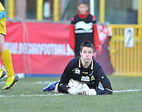 Waasland Beveren Sinaai Girls - RSC Anderlecht : Anke Langeraert.foto DAVID CATRY / Nikonpro.be