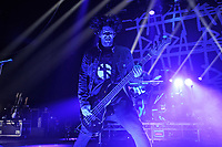 LONDON, ENGLAND - OCTOBER 10:  Tobin Esperance of 'Papa Roach' performing at Brixton Academy on October 10, 2017 in London, England.<br /> CAP/MAR<br /> &copy;MAR/Capital Pictures
