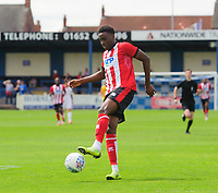 Lincoln City's Jordan Adebayo-Smith<br /> <br /> Photographer Chris Vaughan/CameraSport<br /> <br /> Football Pre-Season Friendly (Community Festival of Lincolnshire) - Lincoln City v Lincoln United - Saturday 6th July 2019 - The Martin & Co Arena - Gainsborough<br /> <br /> World Copyright © 2018 CameraSport. All rights reserved. 43 Linden Ave. Countesthorpe. Leicester. England. LE8 5PG - Tel: +44 (0) 116 277 4147 - admin@camerasport.com - www.camerasport.com