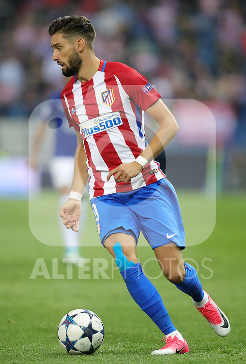Atletico de Madrid's Yannick Ferreira Carrasco during Champions League 2016/2017 Quarter-finals 1st leg match. April 12,2017. (ALTERPHOTOS/Acero)