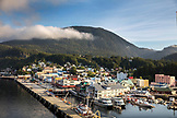 ALASKA, Ketchikan, a view of the enterance to Port of Ketchikan