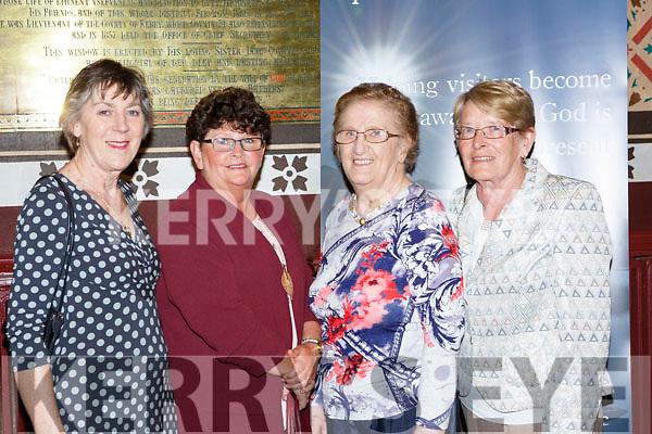 Joan Riordan, Rose Palmer, Betty Cronin and Lil Fleming at Killarney Soprano Mary Culloty O'Sullivan  concert in St Mary's church Killarney on Friday night