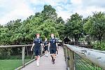 07.01.2019, Lion & Safari Park, Broederstroom, Kalkheuvel, RSA, TL Werder Bremen Johannesburg Tag 05<br /> <br /> im Bild / picture shows <br /> Joshua Sargent (Werder Bremen #19), Felix Beijmo (Werder Bremen #02), <br /> <br /> Teil der Spieler besucht am 5. Tag des Trainingslager eine geführte Tour im Lion & Safari Park, <br /> <br /> Foto © nordphoto / Ewert