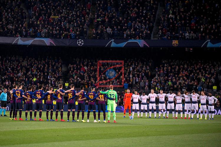 UEFA Champions League 2018/2019 - Matchday 6.<br /> FC Barcelona vs Tottenham Hotspur FC: 1-1.