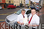 Terry  Boyle and Kevin Finn of 24/7 Cabs who were awarded a Taxi Dispatch operator licence.