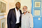 MIAMI, FL - DECEMBER 05: Actor Jimmy Jean-Louis and Judge Fred Seraphin attends the NE2P Art Beat Miami Chef Creole Celebrity Brunch at the Little Haiti Cultural Center on Saturday December 05, 2015 in Doral, Florida.  ( Photo by Johnny Louis / jlnphotography.com )