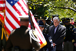 Nevada Gov. Steve Sisolak participates in the 22nd annual Nevada Law Enforcement Officers Memorial ceremony in Carson City, Nev., on Thursday, May 2, 2019. <br /> Photo by Cathleen Allison/Nevada Momentum