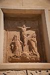 Frieze at main church, Felanitx, Mallorca