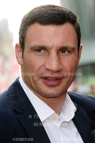 "Vitali Klitschko arriving for the premiere of ""Klitschko"" at the Empire cinema, Leicester Square , London. 21/05/2012 Picture by: Steve Vas / Featureflash"