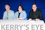 """Writers Week : Pictured at the """"The O'Rahilly Remenbered"""" event held at Plaza centre on Friday last during Writers week were panelists Padaig O'Conchubhair, Dr. Mary McAuliffe & Very Rev Dr. J. Anthony Gaughan."""