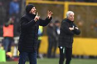 Eusebio Di Francesco of AS Roma, Gian Piero Gasperini of Atalanta <br /> Bergamo 27-1-2019 Stadio Atleti Azzurri d'Italia, Football Serie A 2018/2019 Atalanta - AS Roma<br /> Foto Image Sport / Insidefoto
